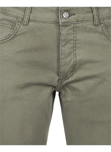 D'S Damat Ds Damat Slim Fit Haki Düz Chino Pantolon Haki
